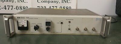 Hpagilent 105b Quartz Frequency Standard