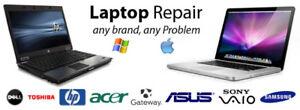 Réparation Laptop repair  25$.... Tech Top