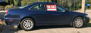 2002 Honda Accord Coupe (2 door) V6 - Fully loaded - 1 OWNER CAR