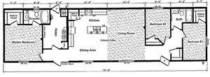 3 Bedroom ML205 Modular Home