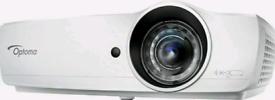Optoma EH460ST Full 3D Short Throw Projector LAN 20,000:1 4,200 Lumen