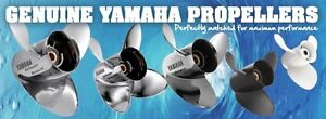 Yamaha Marine Boat Props Propellers aluminum stainless outboard