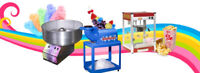 Popcorn,  Cotton Candy and Sno Cone Rental/Supplies