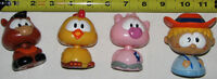 Farm Bobble Head Toys - Farmer, Pig, Chicken, Cow