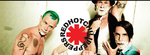 $$280$$ Paire de Billets pour Red Hot Chili Peppers Centre Bell