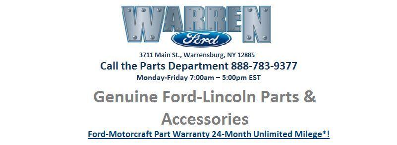 Warren Ford Parts Dept.