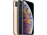 BNIB iPhone in Hand now XS Max 64 & 256gb- all colours