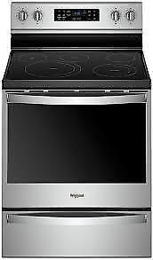 Whirlpool 6.4 Cu. Ft. Freestanding Electric Range YWFE775H0HZ  (BD-2185)