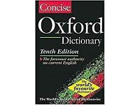Oxford Concise dictionary 10th edition FREE