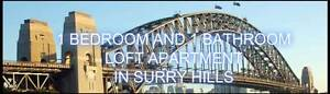 BEAUTIFUL , SPACIOUS LOFT APARTMENT IN SURRY HILLS WITH PARKING Surry Hills Inner Sydney Preview