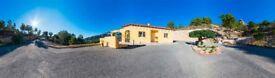 Wonderful Family Villa, Finestrat, Alicante, Costa Blanca set in over 13,300sqm