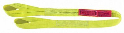 Lift-all Ee1804dfx12 Web Sling Type 3 Polyester 4inw 12 Ft.length