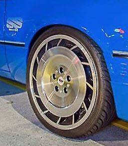 HDT 19 Inch Aero wheels and tyres