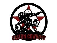 Easton Cowboys Saturday Football - New players needed for 2017-18 season