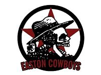 Easton Cowboys 1st team manager required