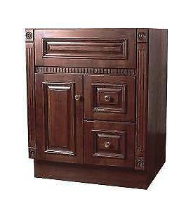 Cherry Bathroom Cabinet Home Garden Ebay