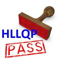 HLLQP / LLQP LICENSE IN 1 WEEK! *If you Don't PASS, We refund!*