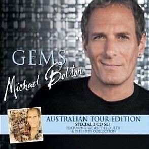 MICHAEL BOLTON Gems 2CD BRAND NEW Australian Tour Edition