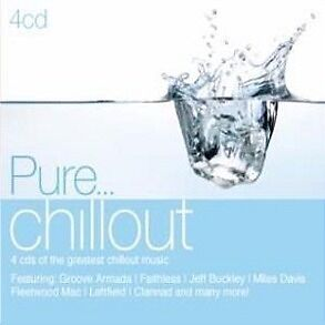 PURE... Chillout Various Feat. Groove Armada, Newton Faulkner & more 4CD NEW