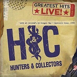 HUNTERS AND COLLECTORS - GREATEST HITS - LIVE - CD - NEW -
