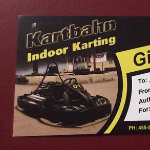 2 rounds for 8 people at Kartbahn