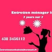"Service Ménage ☆ * RABAIS  LUNDI   mardi PERMIS assurance"""