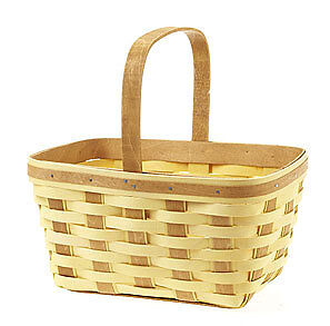 BUTTERNUT Warm Brown SPRING BASKET 2013 Longaberger New Ready to ship Multi Use