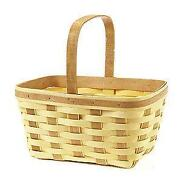 Longaberger Basket Warm Brown