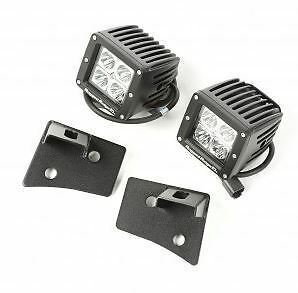 Rugged Ridge - Windshield Bracket LED Kit Jeep Wrangler 07-18