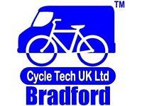 Mobile Cycle Mechanic - Bradford and 12Km radius.