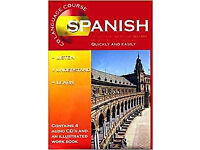 NEW, unopened, Spanish (CD Language Course) 4CD's and workbook