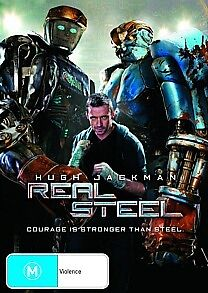 Real Steel (Hugh Jackman) DVD R4 *NEW & SEALED*