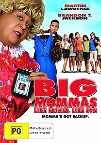 Big Mommas House 3 - Like Father, Like Son DVD R4 *NEW & SEALED*