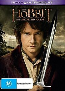 The Hobbit An Unexpected Journey - DVD/ ULTRAVIOLAT (New Sealed) Region 4