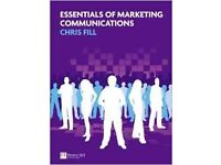Essentials of Marketing Communications Chris Fill Book