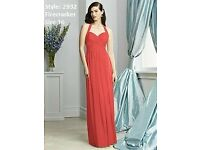 Dessy Bridesmaid Dress 2932 in Firecracker size 16