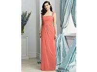 Dessy Bridesmaid Dress Occassion Dress 2930 in Ginger size 16
