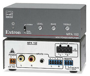 Extron Mini Audio Amplifiers