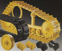Heavy Equipment Undercarriages, Wear Items and Used Parts