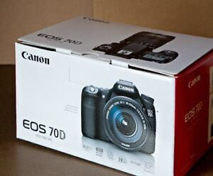 Brand New Canon 70d body only 4 photos WOLFVILLE