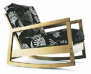LOOK !! Modern Ikea Lillberg rocking chair Whitfield Cairns City Preview