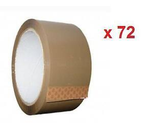 Brown Carton Packing Tape / Packaging Tape - 48mm x 50 Meters -72 Rolls