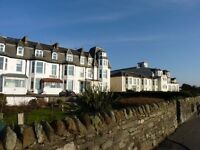HOLIDAY ACCOMMODATION AVAILABLE NOW IN TOWN CENTRE HOTEL , DUNOON FOR SHORT/LONG TERM,FREE WIFI USE