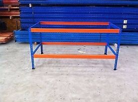 2 Tier Rapid Rack Pallet Racking Work bench Unit For Sale