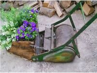 Lovely Vintage Lawn Mower Garden Planter Indoors or Outdoors Display Piece