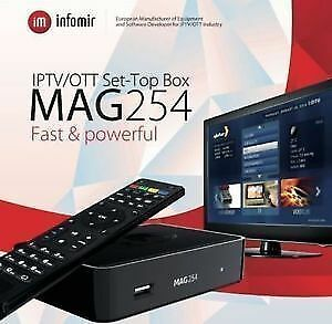 Best Christmas gift ever - Mag 254 W1 ipTV - with inbuilt wifi