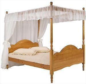 double four poster beds