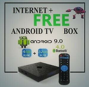 FREE ANDROID TV BOX WITH INTERNET SUBSCRIPTION. LIMITED TIME OFF