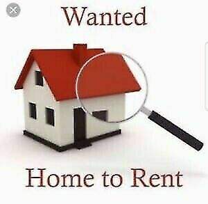 Wanted : HOME FOR RENT