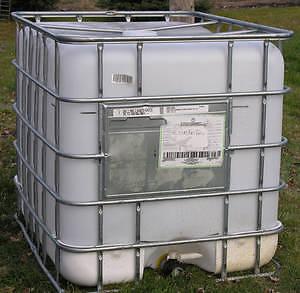 RESERVOIR TANK 1000 liters (225 Gal)